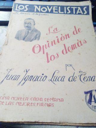 LOS NOVELISTAS. Novela de la guerra.