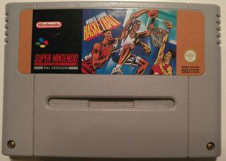 Juego Super NES - World League Basketball