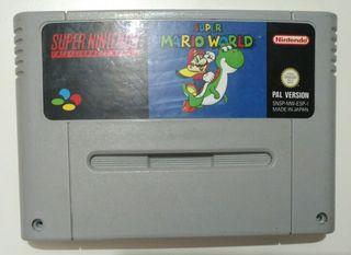 Juego Super NES - Super Mario World