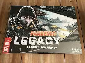 Juego de mesa pandemic legacy temporada 2