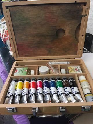 Kit para pintura artistica