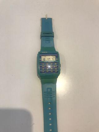 Pack 2 relojes Casio calculadora