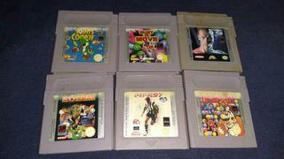 Juegos para GameBoy