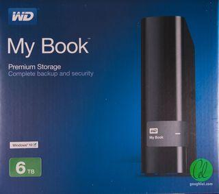 WD 6tb disco duro