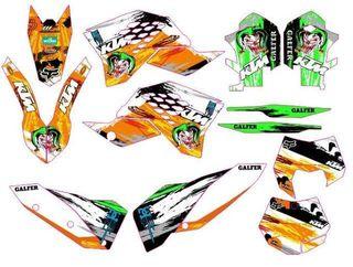 KIT PEGATINAS KTM EXC/SX 08-11