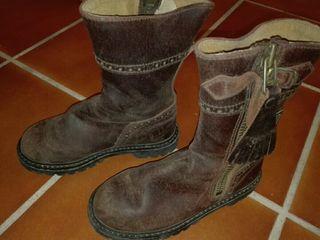 botos flamencos de niño