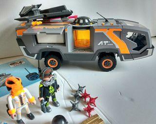 Playmobil camión Top agents 5286