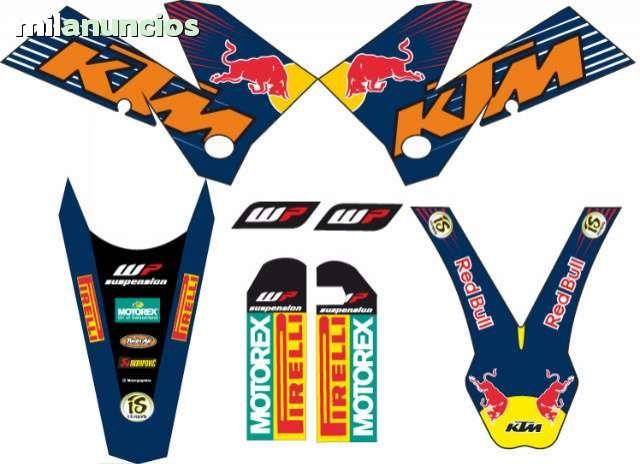 ADHESIVOS KTM EXC, SX 2005-07 Envio gratis: