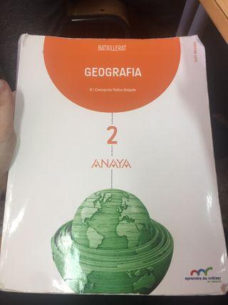 Libro de geografia 2 bachiller