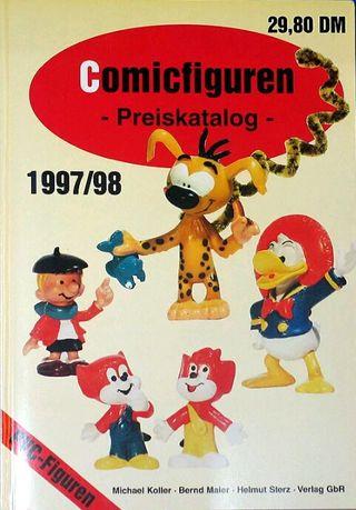 Catalogo Pvc Comicfiguren Preiskatalog 1997-98
