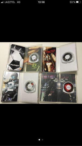 Pack juegos+pelicula. Para PSP
