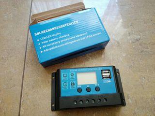 Regulador de carga Solar 12/24 v