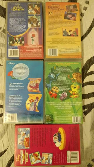 Pack VHS disney