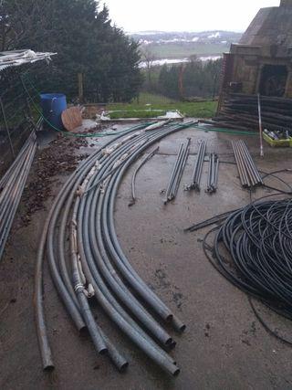 Invernadero tunel de segunda mano por en hoznayo en wallapop Estructuras invernaderos segunda mano