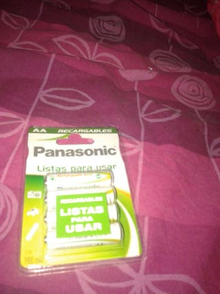 Pilas recargables listas Panasonic