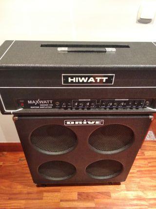 Amplificador HIWATT MAXWATT G200RHD +PANTALLA 4X12
