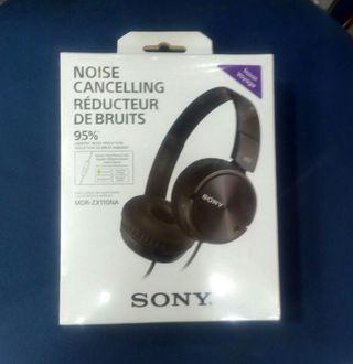 Auriculares cancelación ruido Sony MDR-ZX110NA nue segunda mano  España