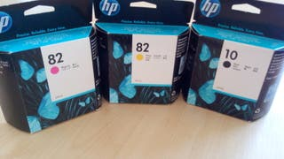 HP ink cartridges.