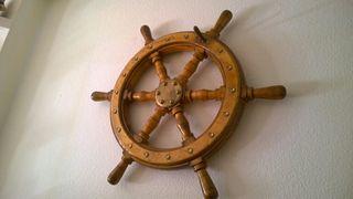 Timon antiguo de Barco o Velero - diámetro 70 cm.