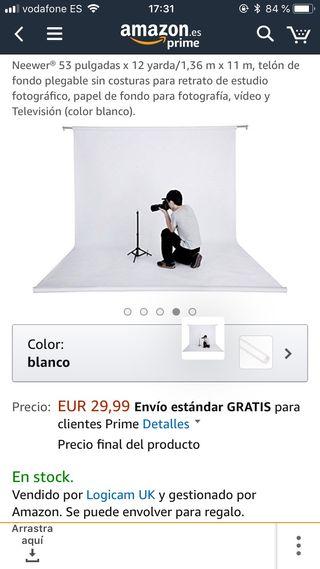 Fondo blanco fotografia estudi