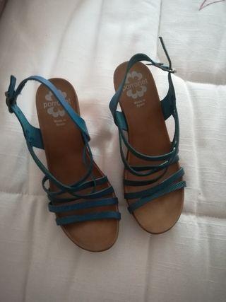sandalias piel nuevas