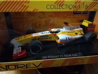 Renault r29 Fernando Alonso escala 1:18