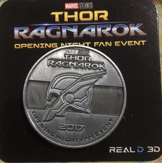 Moneda exclusiva Thor Ragnarok