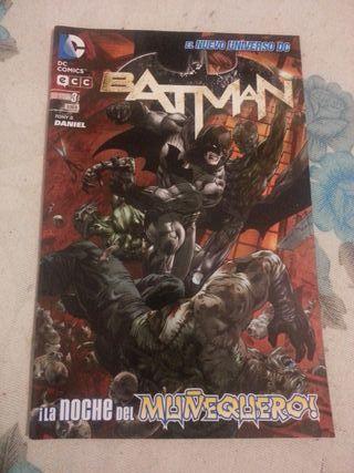 Cómic BATMAN núm.03 El nuevo universo DC