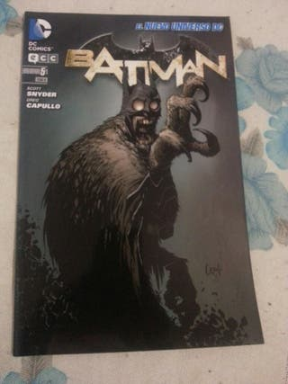 Cómic BATMAN núm.05 El nuevo universo DC