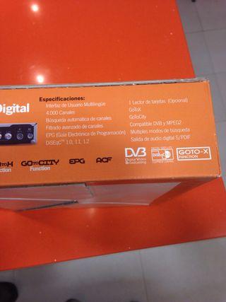 Receptor digital de satelite