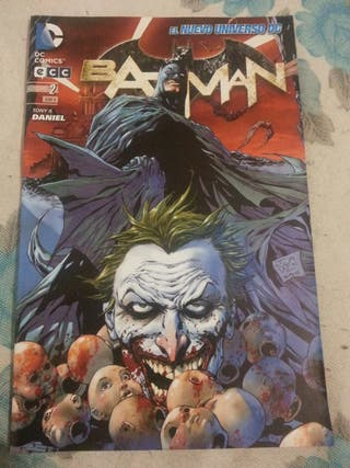 Cómic BATMAN núm.02 El nuevo universo DC