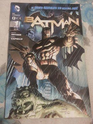 Cómic BATMAN núm.01 El nuevo universo DC