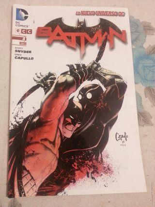 Cómic BATMAN núm.04 El nuevo universo DC