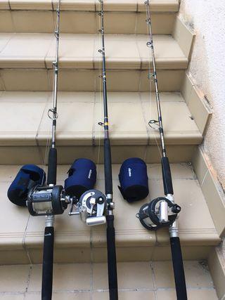 Carrete pesca altura