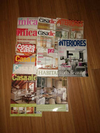Lote revistas de decoracion