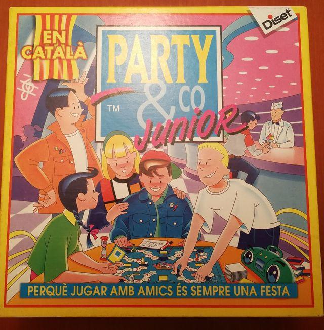 Juego De Mesa Party Amp Go Junior Catala De Segunda Mano Por 7