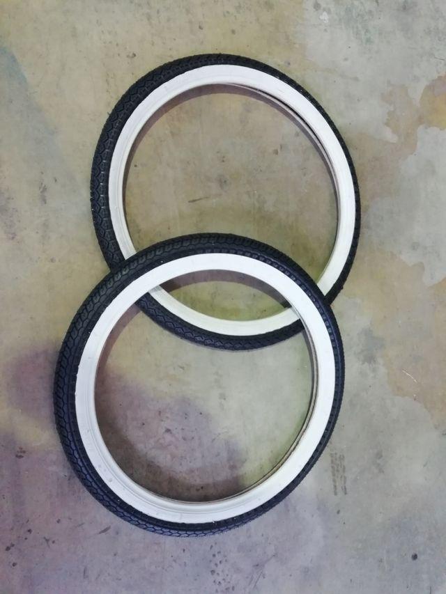 Neumáticos 2.00-19 y 2.25-18