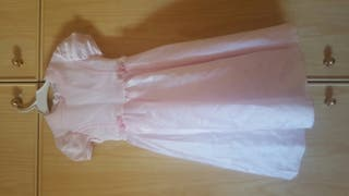 vestido rosa ceremonia niña talla 6