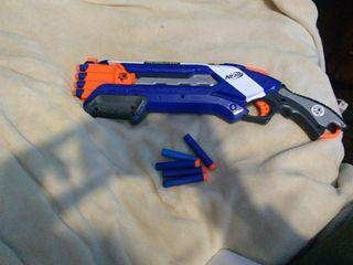 Pistola nerf te regalamos una peonza