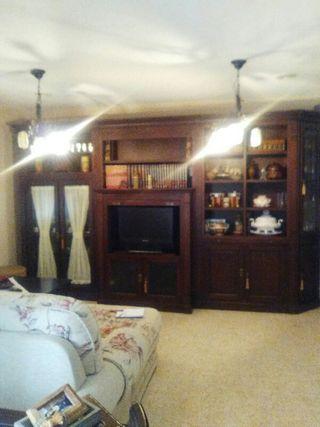 mueble salon precioso madera.