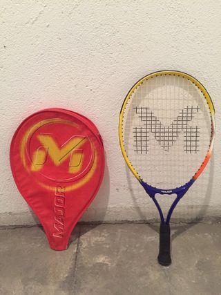 Raqueta de tenis niño