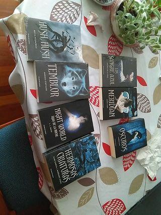 Son novelas vampíricas para adolescentes.