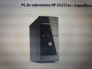 PC HP DE SOBREMESA