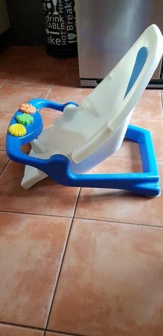 hamaca/silla de baño bebé