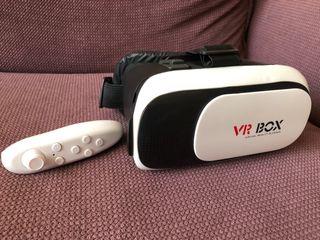 Gafas Virtuales 3D con mando