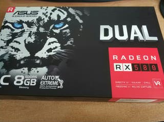 Tarjeta gráfica Asus Dual 580RX 8GB