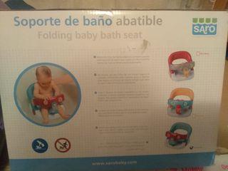 Soporte de bebe para baño