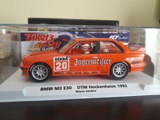 BMW M3 E30 FLY DTM HOCKENHEIN 1992 WAYNE GARDNER