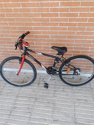 Bicicleta junior 24 pulgadas