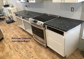 Blue Pearl GT Granite Kitchen Worktop in London